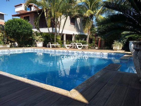 Casa Com 5 Dormitórios À Venda, 450 M² - Cordeirinho (ponta Negra) - Maricá/rj - Ca3741