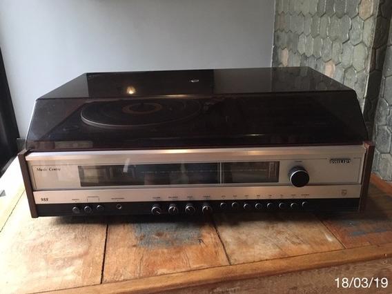 * Aparelho De Som Philips - Mod. 988 - Estado Excepcional *