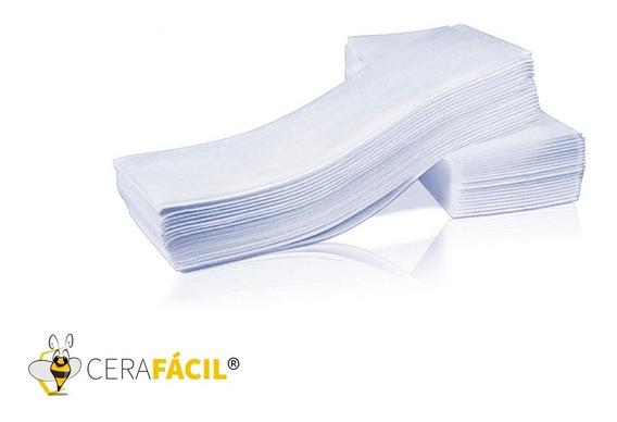 Papel Depilação Falso Tecido 100un - Cera Fácil