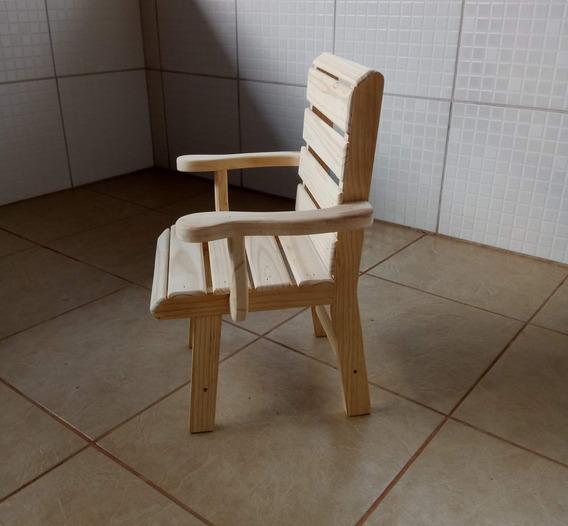 Cadeira Infantil Com Braço - Pinus - Unidade* Cod.15
