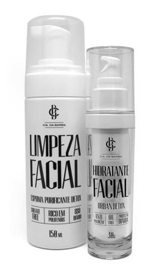 Kit Limpeza Facial E Hidratante Facial Cia Da Barba