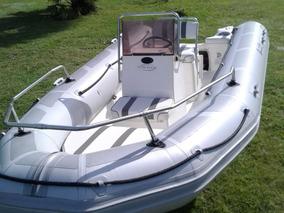 Lancha Bote Semirrigido Viking 5.20mt Pap Al Dia Baja Motor