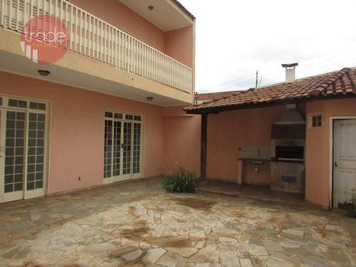 Imagem 1 de 27 de Casa, 305 M² - Venda Por R$ 1.064.000,00 Ou Aluguel Por R$ 4.000,00/mês - Alto Da Boa Vista - Ribeirão Preto/sp - Ca3854