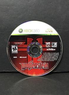 Wolfenstein Xbox 360 Usado Blakhelmet C