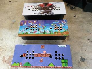 Cajon Para Consola Arcade Pandora Box Para 2 Jugadores