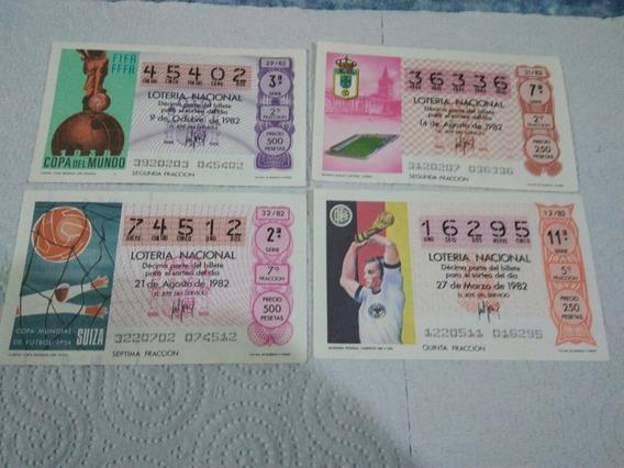 Billetes De Lotería Españoles - Mundial 1982