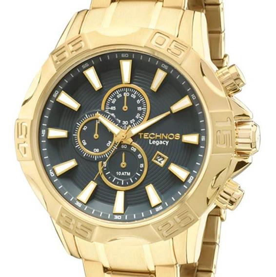 Relógio Technos Masculino Classic Legacy Os10ey/4a + Nf-e