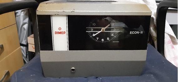 Relógio Antigo De Bater Ponto Retrô Vintage No Estado