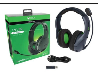 Headset Stereo Gaming Lvl50 Licencia Oficial Xbox One