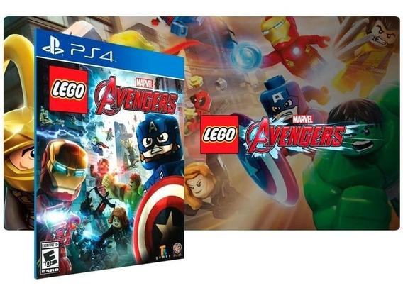 Lego Marvel Vingadores Ps4 Lacrado - Caixa Azul