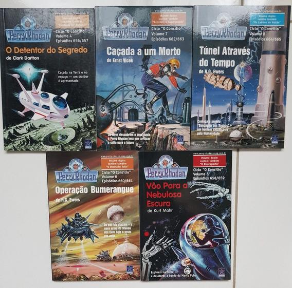 Super Lote De Livros Perry Rhodan Sspg 2 Nova Edição