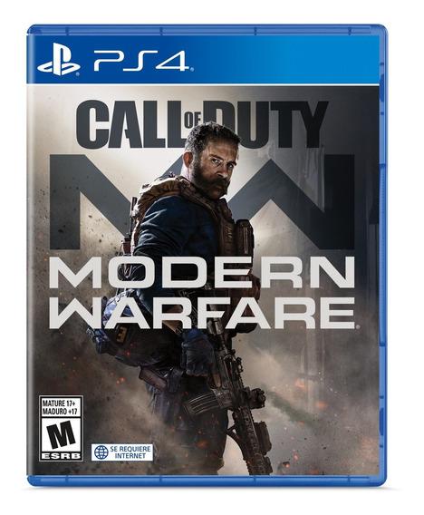 Call Of Duty Modern Warfare Formato Físico Ps4 Original