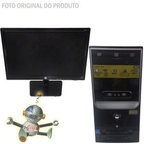 Pc Oro Intel G3269 3.3ghz 4gb Ddr3 500gb + Monitor Hp 18,5