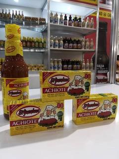 El Yucateco - Pack Achiote 1 Líquido 300ml. Y 3 Pasta 100gr.