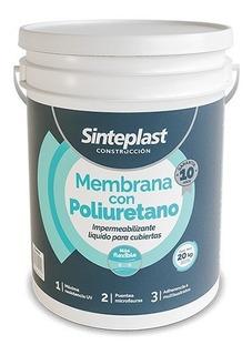 Membrana Poliuretano Construccion Sinteplast 20kg Pinxel