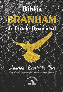 Bíblia Branham De Estudo Devocional - Capa Brochura