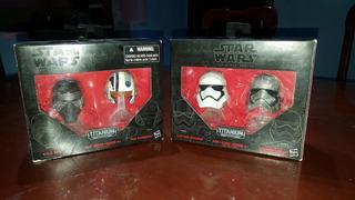 Cascos Star Wars Titanium Series 01 & 02