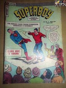 Superboy Nº 13 - Legião Dos Super-heróis - 1ª Série Ebal