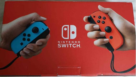 Vídeo Game Nintendo Switch 32g Neon