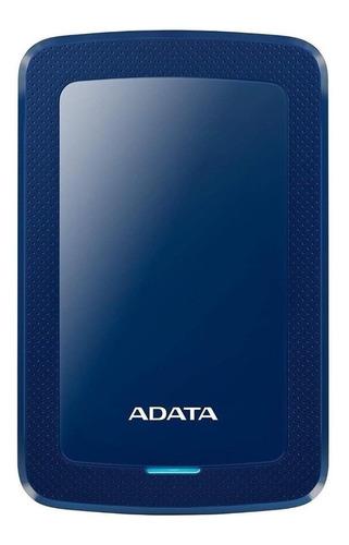 Imagen 1 de 3 de Disco duro externo Adata AHV300-2TU31 2TB azul
