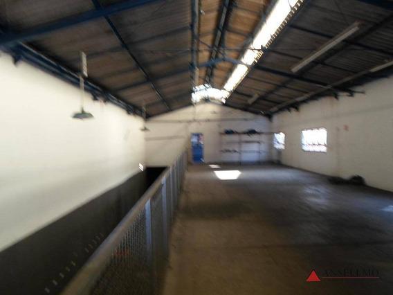 Galpão Para Alugar, 600 M² Por R$ 5.000,00/mês - Vila João Basso - São Bernardo Do Campo/sp - Ga0224