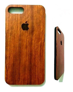 Funda 100% Madera Originl 3d iPhone 7/8/plus X Xs Xr Max
