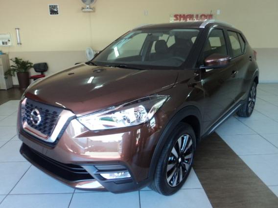 Nissan Kicks 1.6 16v Sv Aut. 5p 2019/2020 Cinza Rust (marron