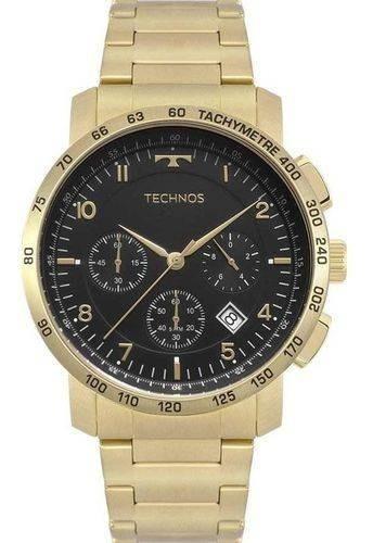 Relógio Technos Masculino Ref: 6s20aa/4p Skymaster Cronógraf