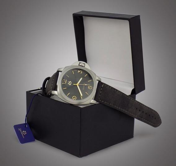 Relógio Masculino Luxo Preto Spaceman Pro Original Na Caixa
