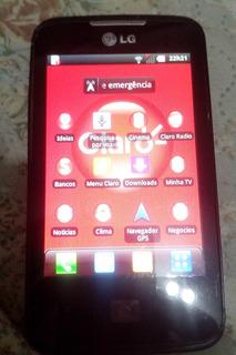 Celular LG-e510f Claro Funciona Perfeitamente