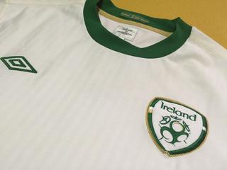 Camisa Da Seleção Da Irlanda 2010/11 Away!!! Modelo Jogador