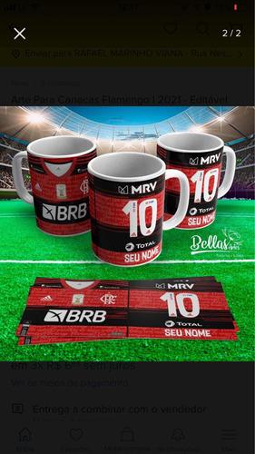 Imagem 1 de 3 de Kit Arte Gráfica Flamengo