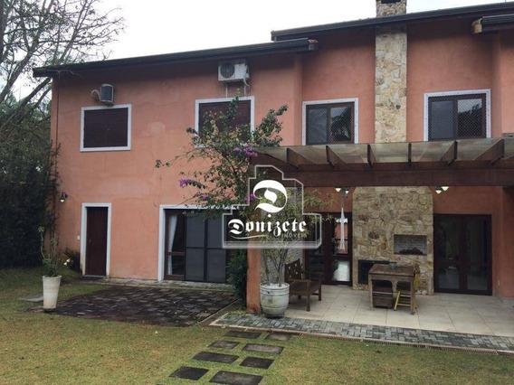 Casa Com 4 Dormitórios À Venda, 300 M² Por R$ 1.600.000,00 - Represa - Ribeirão Pires/sp - Ca0951