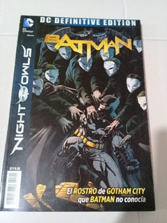 Dc Definitive Edition - Batman Night Of The Owls - Dc Mexico