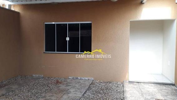 Casa Com 3 Dormitórios Para Alugar, 140 M² Por R$ 1.350,00/mês - Jardim Terramérica Ii - Americana/sp - Ca2197
