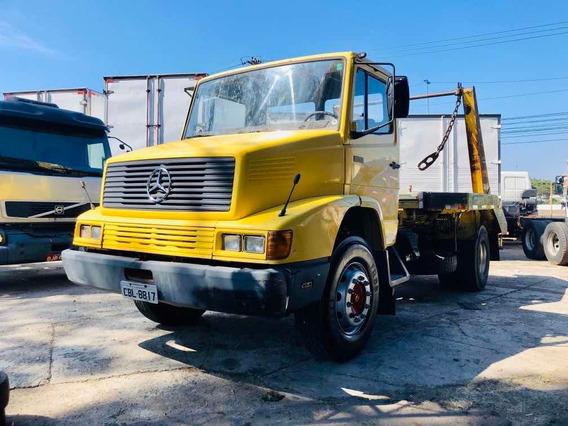 Mercedes-benz 1614 1990 Com Poli Simples
