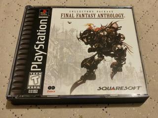 Final Fantasy Anthology Original Black Label Playstation 1!!
