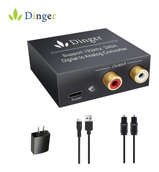 Dinger Convertidor De Audio Digital A Analógico