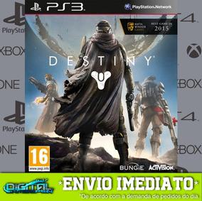 Destiny Ps3 Psn Midia Digital Envio Agora!