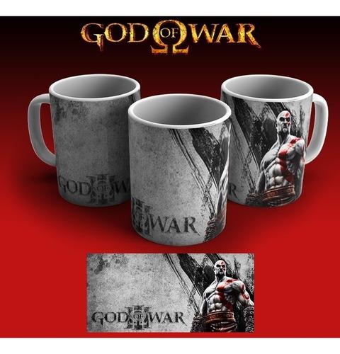 Imagem 1 de 1 de Caneca God Of War Grátis Laço E Celofane!