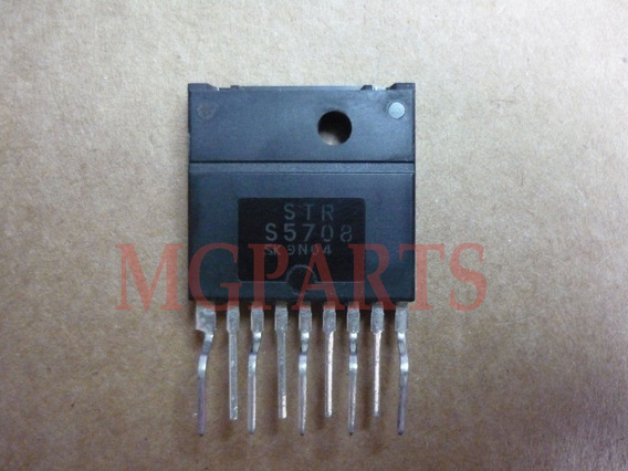 Strs5708 = Strs5707 Ic Regulador Fuente Tv Original Cd
