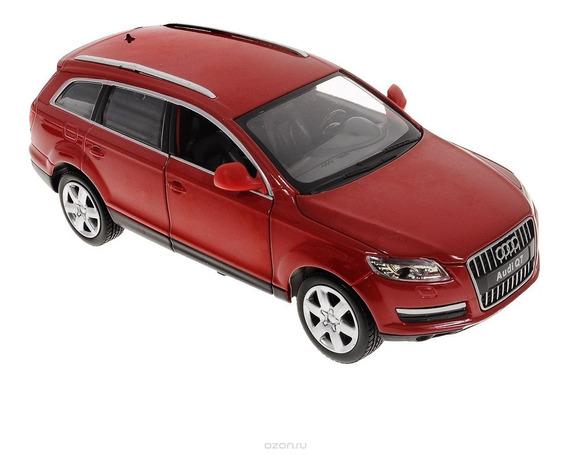 Auto De Coleccion Audi Q7 Escala 1:24 Msz Con Luz Y Sonido