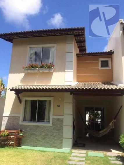 Casa Residencial Em Condomínio À Venda, Divineia, Aquiraz. - Ca2670
