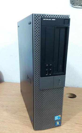 Cpu Dell 980 Core I7 2.93ghz Memoria 8gb Hd 500gb Com Video