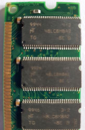 Memoria Dimm 128mb Pc100 - Usada- Entrega En Villa Devoto