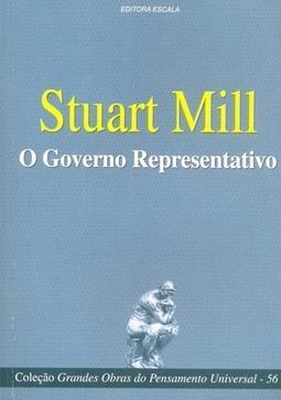 Livro O Governo Representativo - Stuart Mill + Brinde