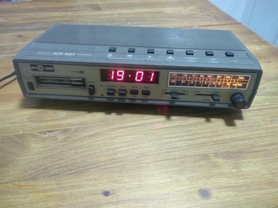Rádio Relógio Motoradio Fm Am K7 Funcionando