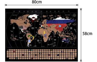 Mapa Del Mundo Marcable. Con Banderas De Países Y Nombres