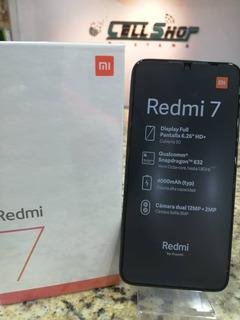 Xiaomi Redmi 7 Camara 12+2mp Selfie 8mp 32gb Cellshop