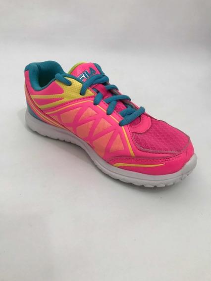 Zapatillas Fila Mujer Niña Rosa Deportiva